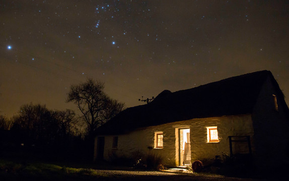 A great place for stargazing in Carmarthenshire…