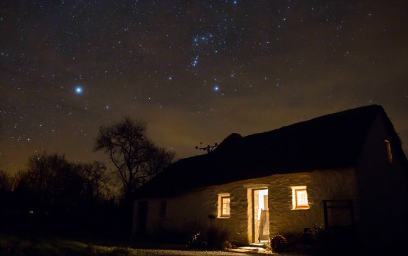 Timelapse filming of stars. Why winter is best…